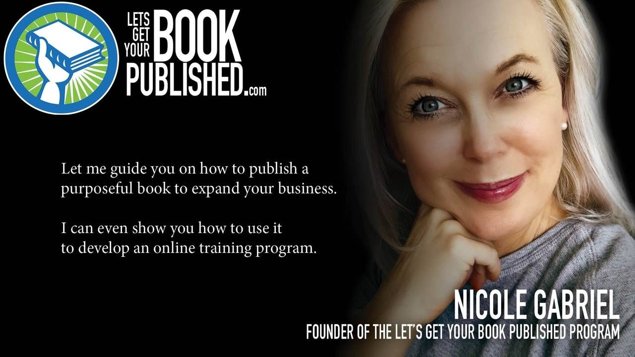 As an author of multiple books, a designer for many years