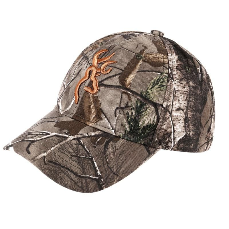 Camouflage Browning Baseball Cap in 2020 Realtree camo