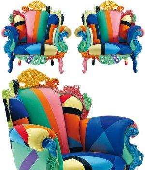 Armchair1 colori colores colors pinterest fauteuil for Mobili colorati design