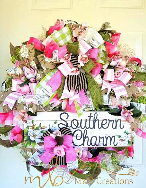 Photo of Magnolia south wreath