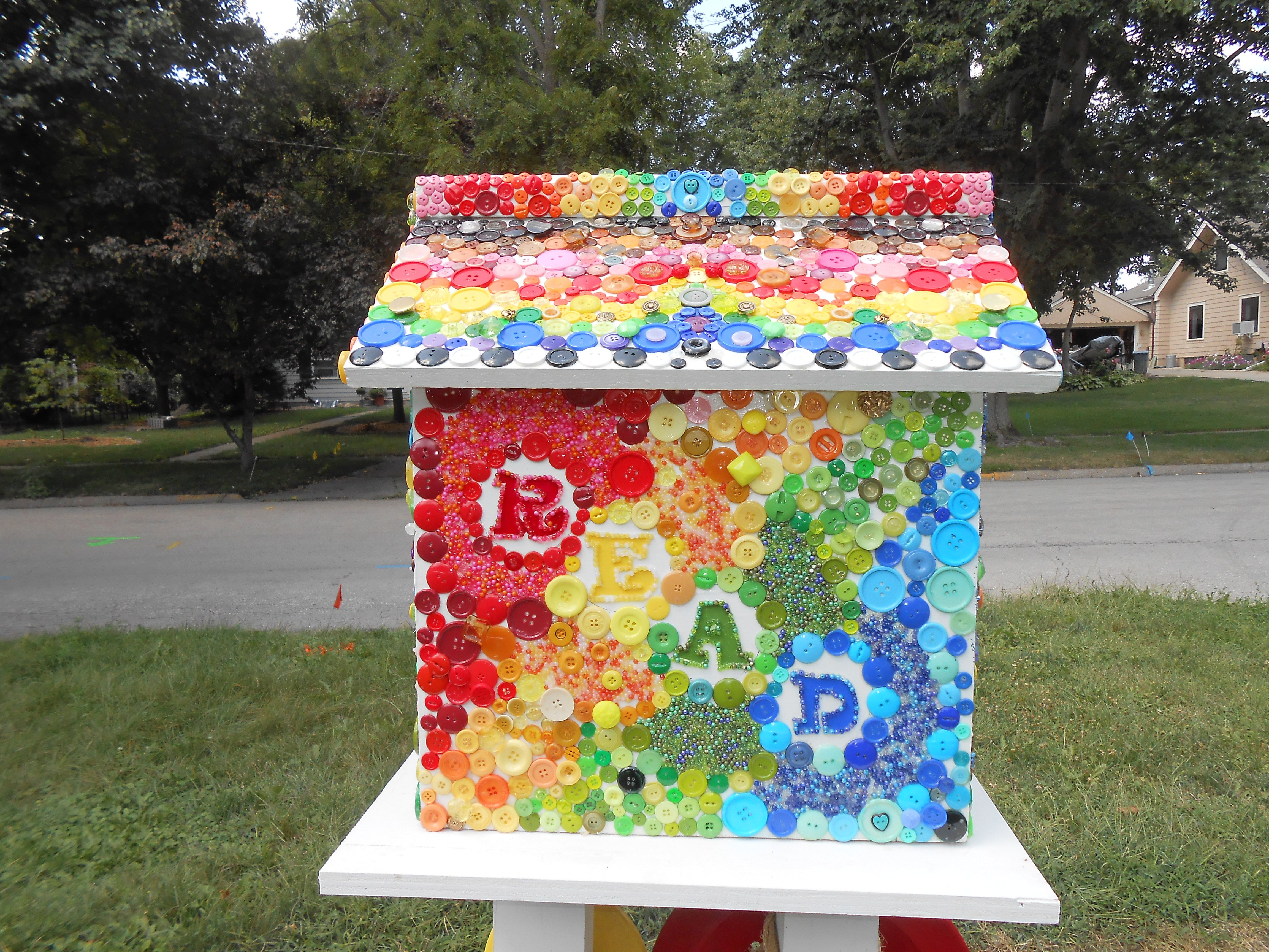 Karri Folks Ames Ia I Created Folks Little Free Library To Promote Community And The Love Of Books In My Little Free Libraries Free Library Little Library