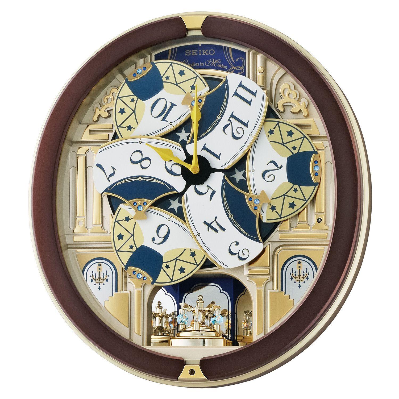Seiko Melodies In Motion Clock Clock Wall Clock Seiko