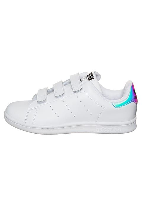 151a0788389 ... czech schoenen adidas originals stan smith cf sneakers laag metallic  silver footwear white wit 6a12a 28765