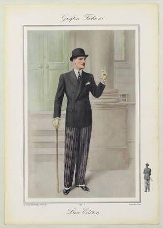 menswear 1930s english plate 034 fashion plates 1700. Black Bedroom Furniture Sets. Home Design Ideas