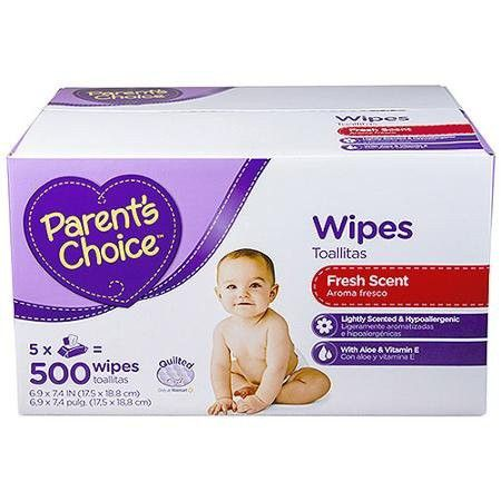 Parents Choice Fresh Scent Baby Wipes 500 Count Baby Wipes Parents Choice Baby Wipes Recipe