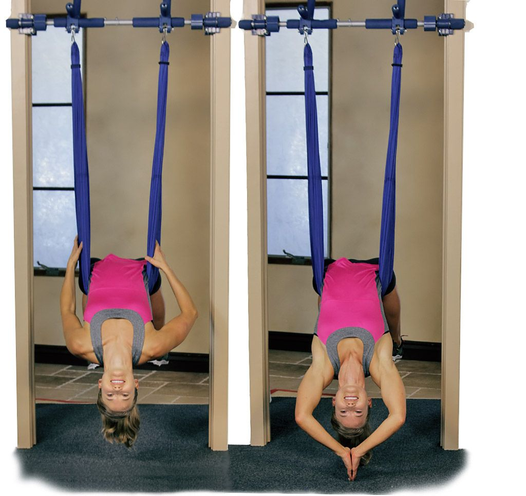 Use A Yoga Swing In The Comfort Of Your Own Home! Only