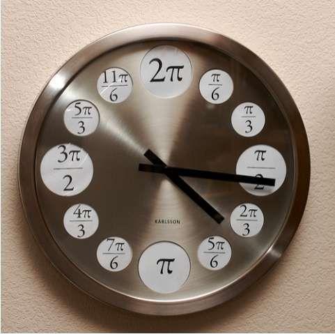 Math Major Wall Clocks Math Clock Clock Unusual Clocks