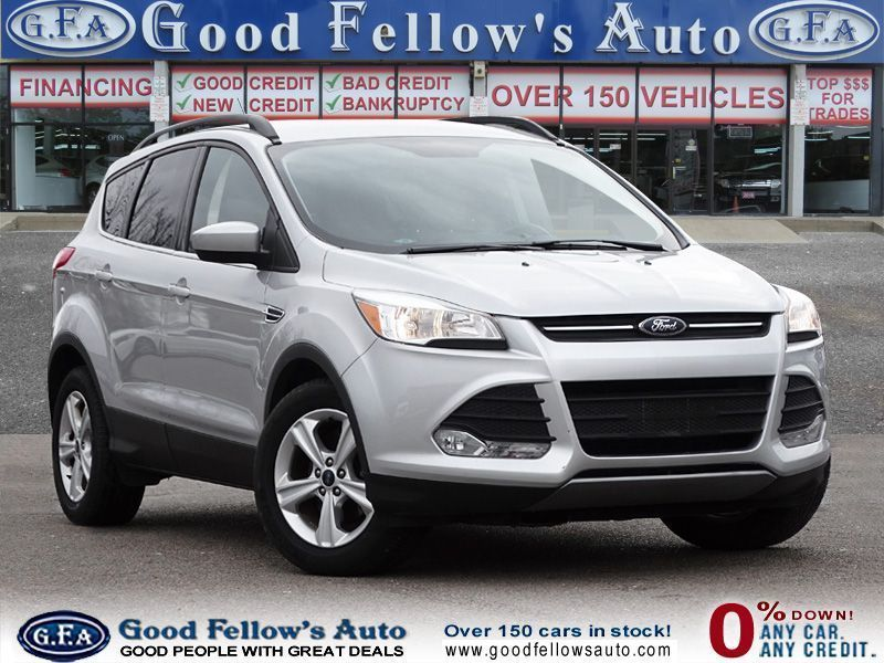 Check Out This Sleek Silver Used Ford Escape For Sale In Toronto To See This Vehicle And Many More Like It Visit Ou Ford Escape Used Suv 2016 Ford Escape