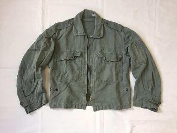RARE Vintage Italian Air Force Summer Flight Jacket Sartoria