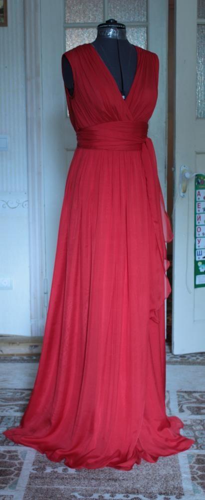 Выкройки платьев из шифона в пол