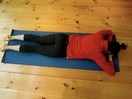 restorative yoga pose crocodile  google search