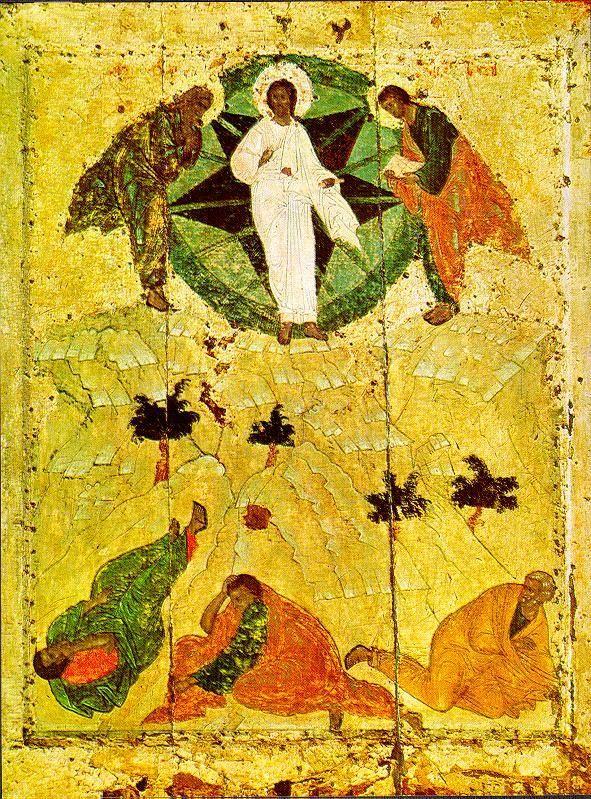 Rublev's Transfiguration Icon (c.1405)