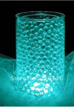 10 Bags Crystal Aqua Water Beads Centerpiece Vase Filler for Event Party Supply