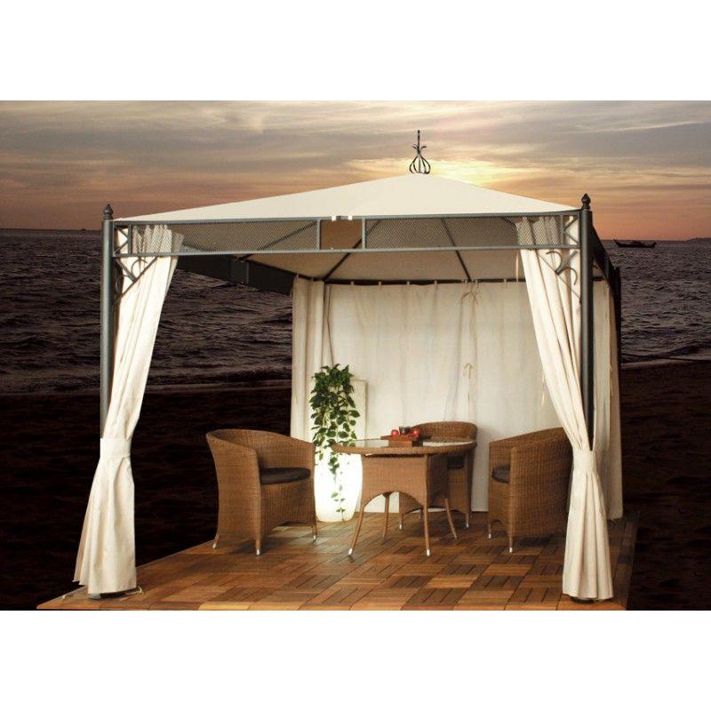 Nice Aluminium Pavillon Amrum Ihr Online Shop f r exklusive Gartenm bel Garten