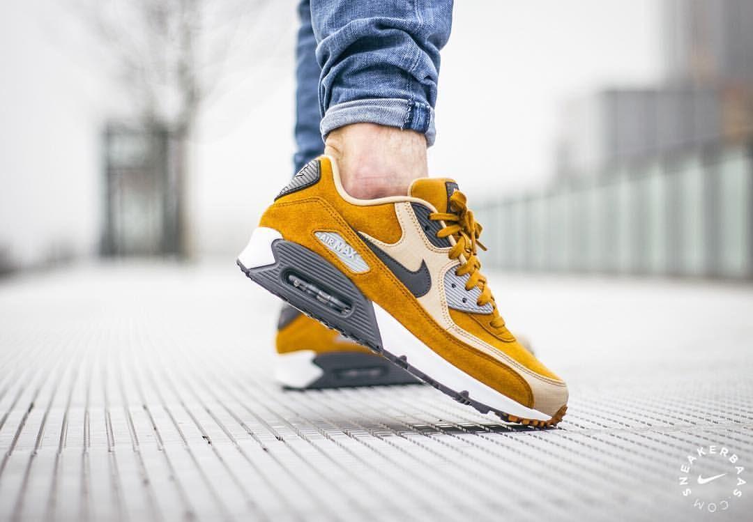 big sale 60608 d97d4 ... italy nike air max 90 premium desert ochre sneakers sneakernews  streetstyle kicks a540d 5bc3e