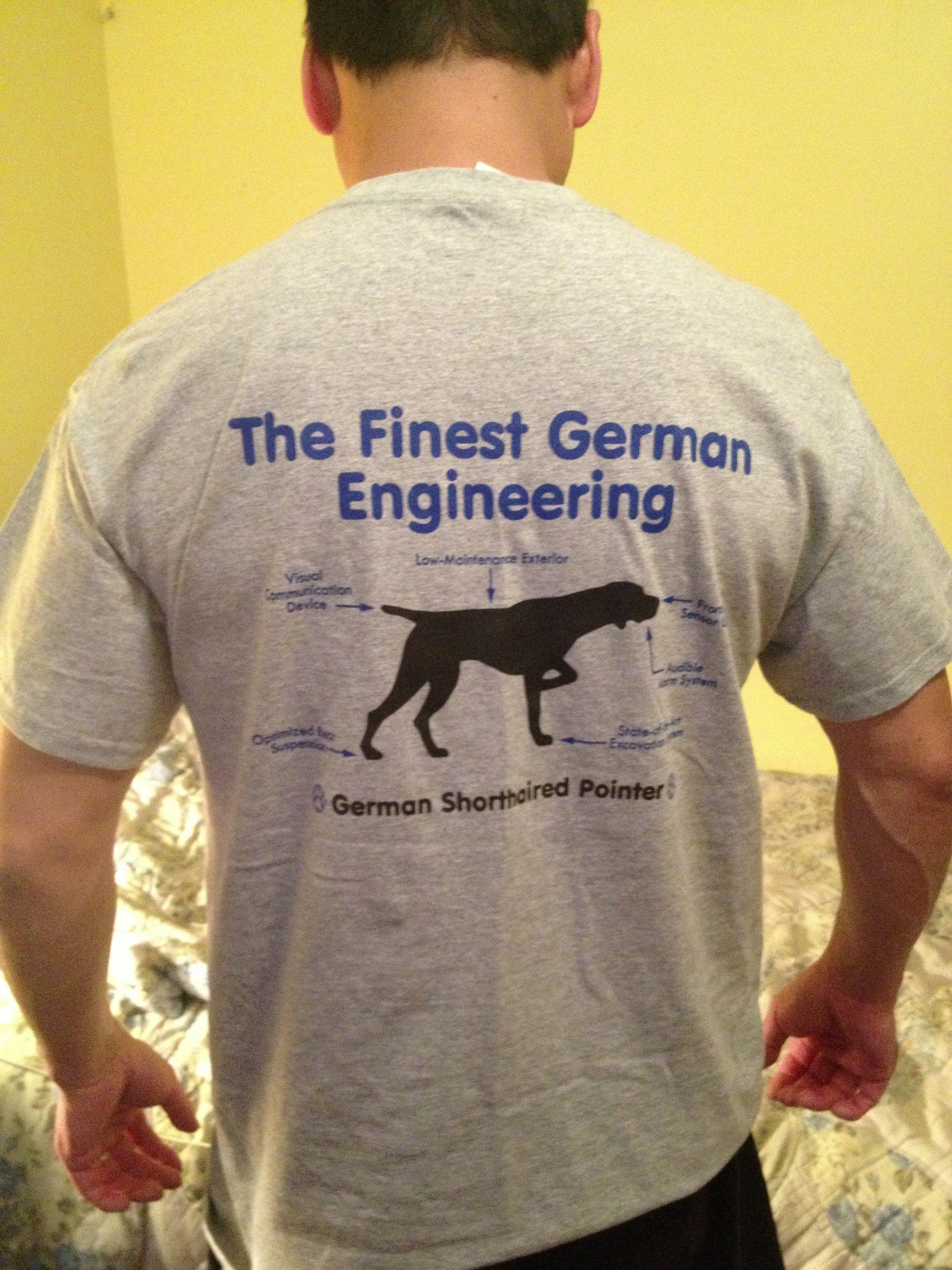 Hubby S New Gsp Shirt Mens Tshirts Mens Tops German