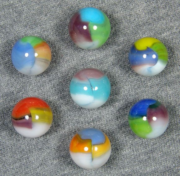 Most Valuable Marbles 57 Varieties A Vitro Article Glass