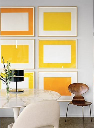 Bright artwork | Colors in Focus: Yellow | Pinterest | Interiors ...