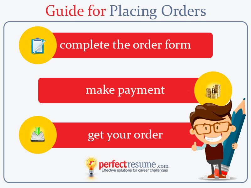 Learn how to place an order for a professional #resume, #cv, or - resume order