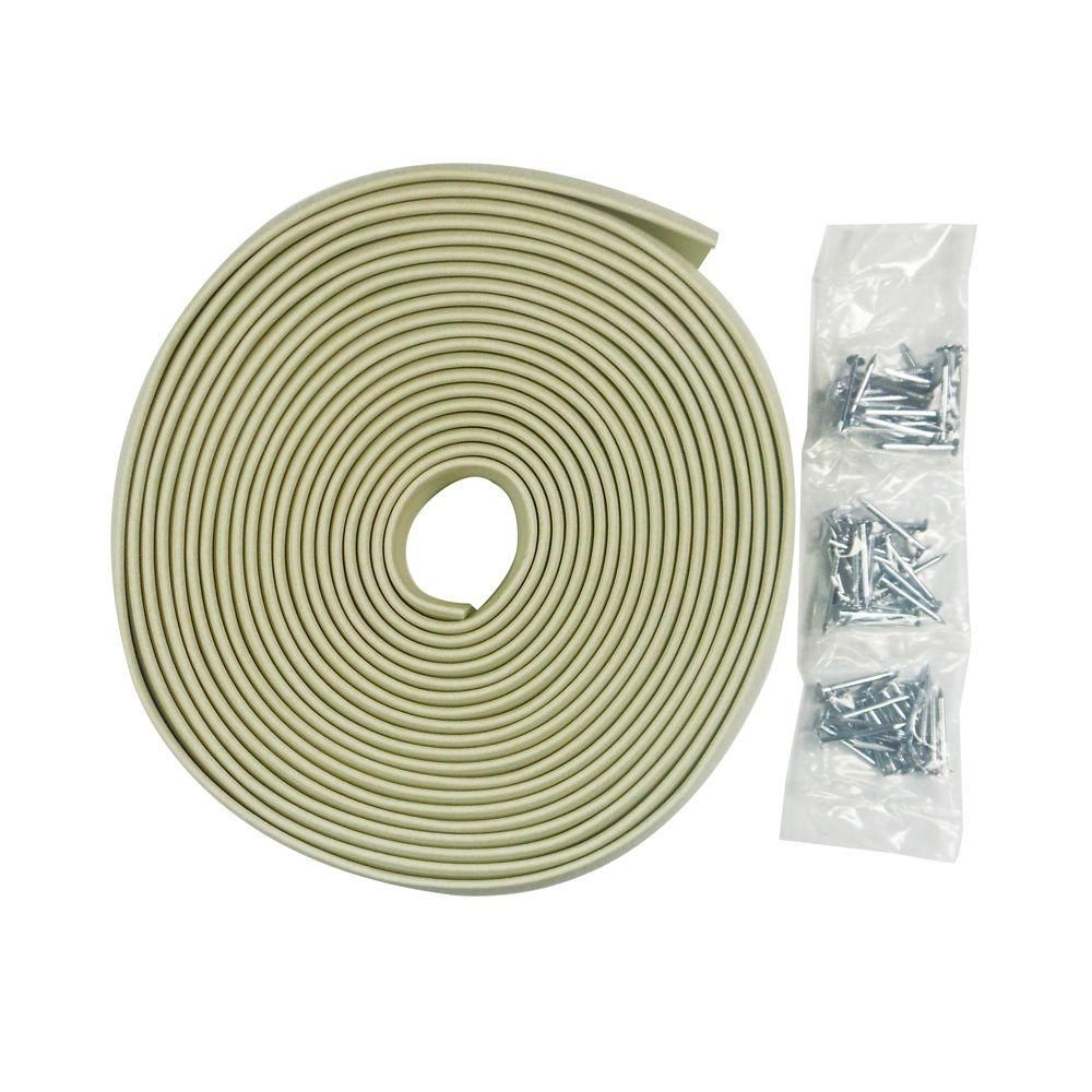 Frost King 30 Ft Nail On Garage Door Top And Side Seal 1 3 4 W Sg30wh The Home Depot In 2021 Garage Doors Vinyl Garage Doors Garage Door Seal