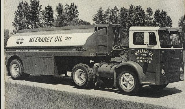 1963 White 1500 With Heil Trailer White Truck Freightliner Trucks Trucks