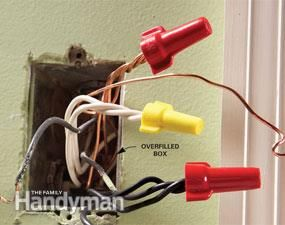 Sensational Top 10 Electrical Mistakes Electrical Repair And Wiring Home Wiring Cloud Usnesfoxcilixyz