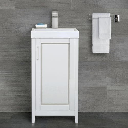 Gallery For Photographers Magick Woods Gretta Collection Vanity with Top Matte White