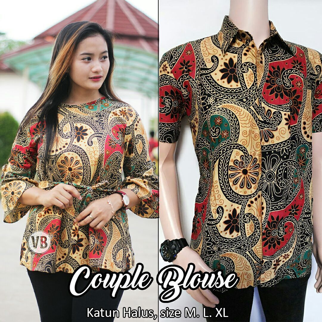 Model Gamis Batik Qonita Pekalongan  Model pakaian, Baju muslim