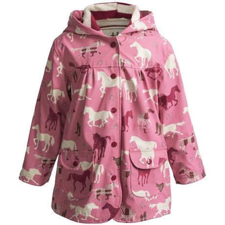 Hatley Hooded Terry-Lined Rain Coat (For Kids)
