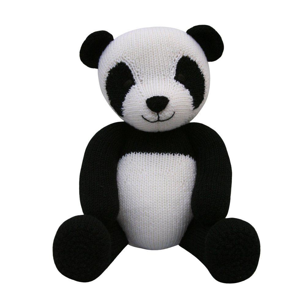 Panda (Knit a Teddy) | Patterns, Toy and Knitting patterns