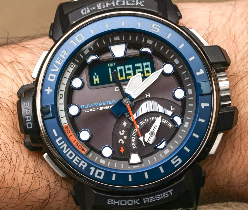 Casio G-Shock Master Of G Gulfmaster GWNQ1000-1A Watch Review - by Ariel 916b3849b1