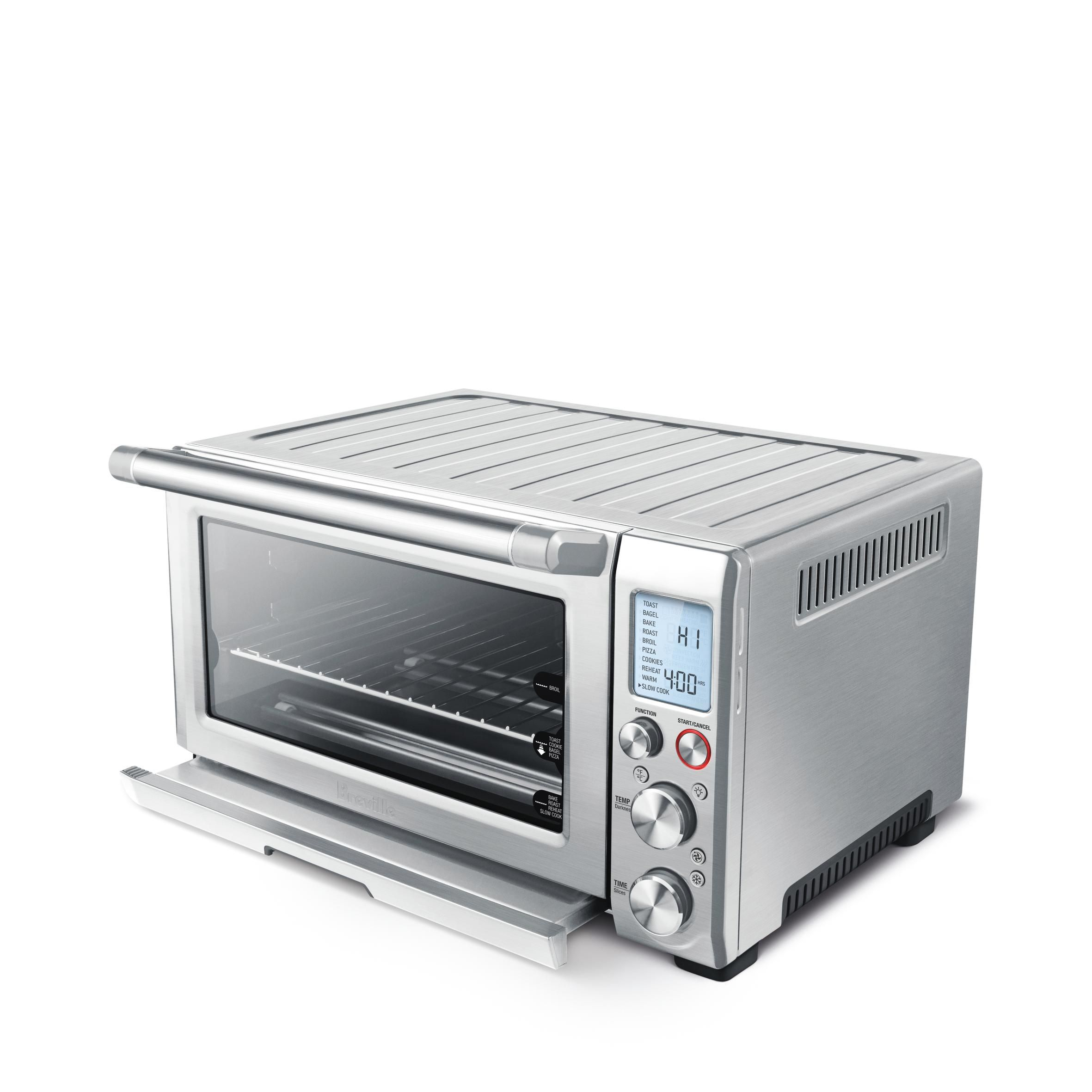 convection touch one oven intelligent breville rm function smart cast slice with toaster die
