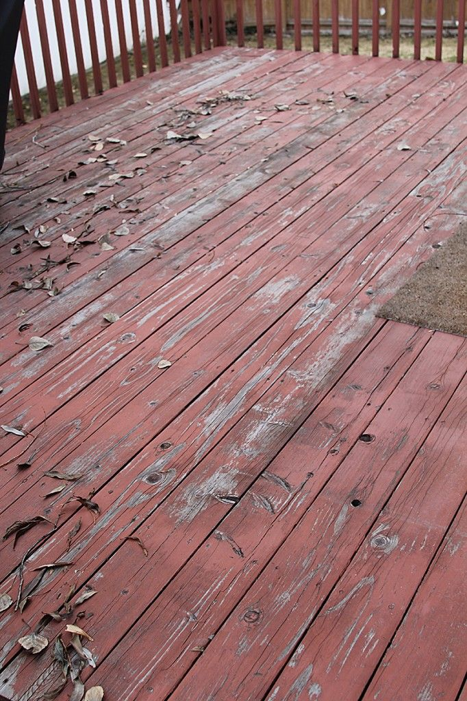 How To Stain An Existing Deck Deck Decorating Deck Makeover