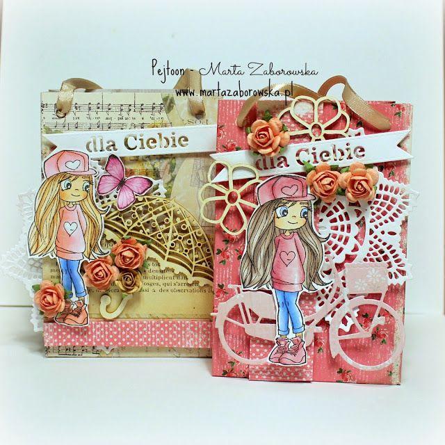 Torebki na słodki prezent nie tylko na dzień dziecka www.martazaborowska.pl