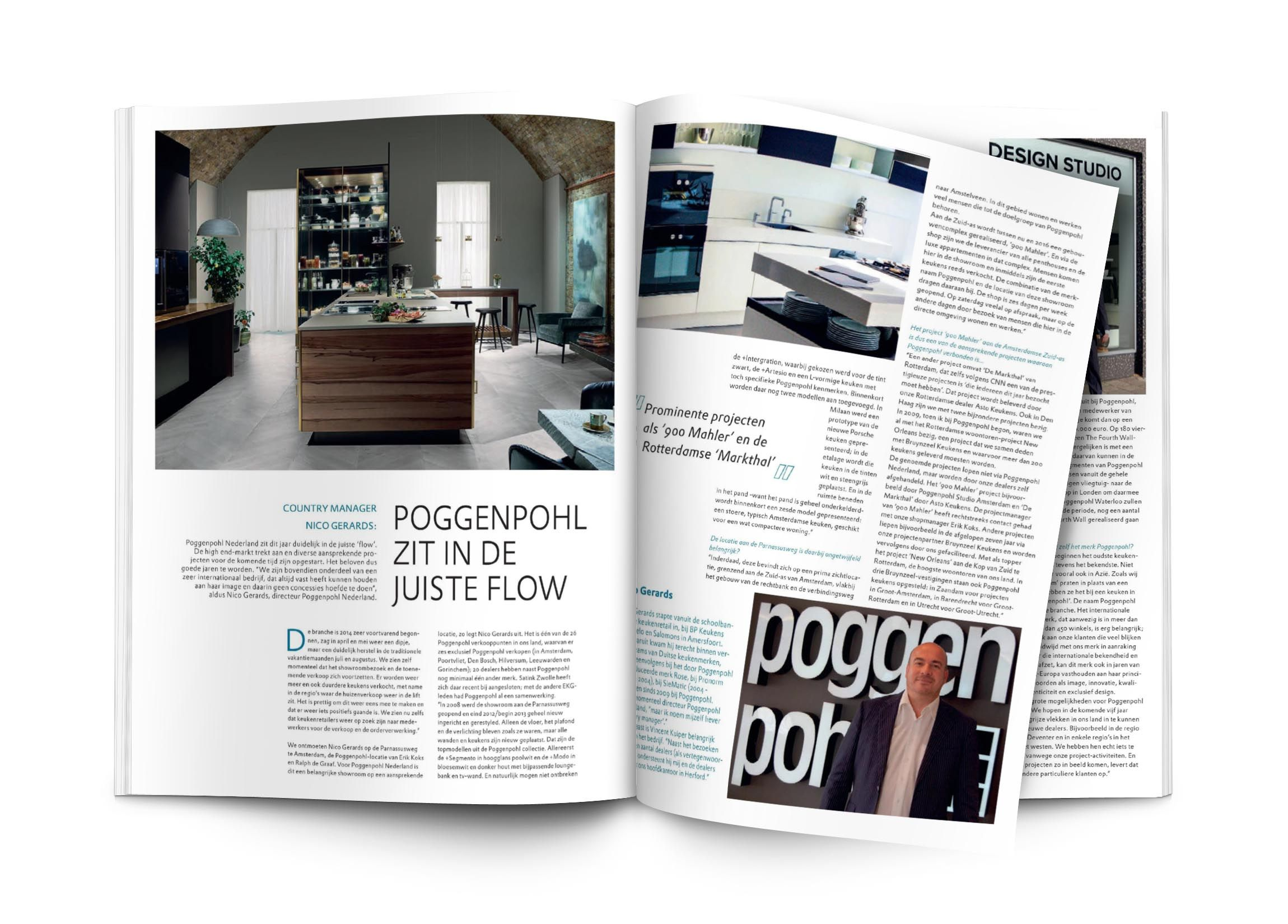 Interieur Magazine Poggenpohl Featured At