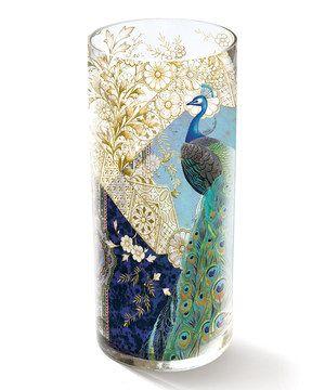 Look at this #zulilyfind! Heather Peacock Vase by Fringe Studio #zulilyfinds