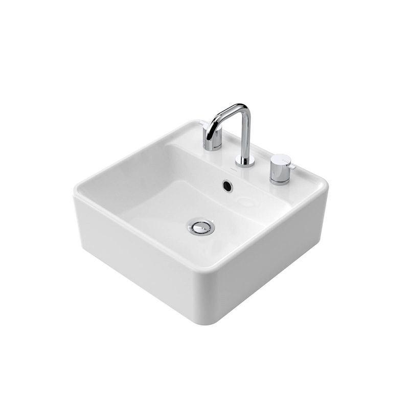 Find Caroma Carboni II Above Counter Basin 3TH at Bunnings Warehouse ...