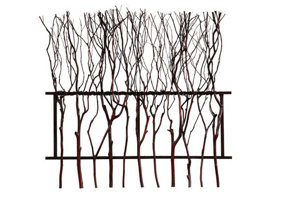 Bassett mirror branch out wall art in natural brown