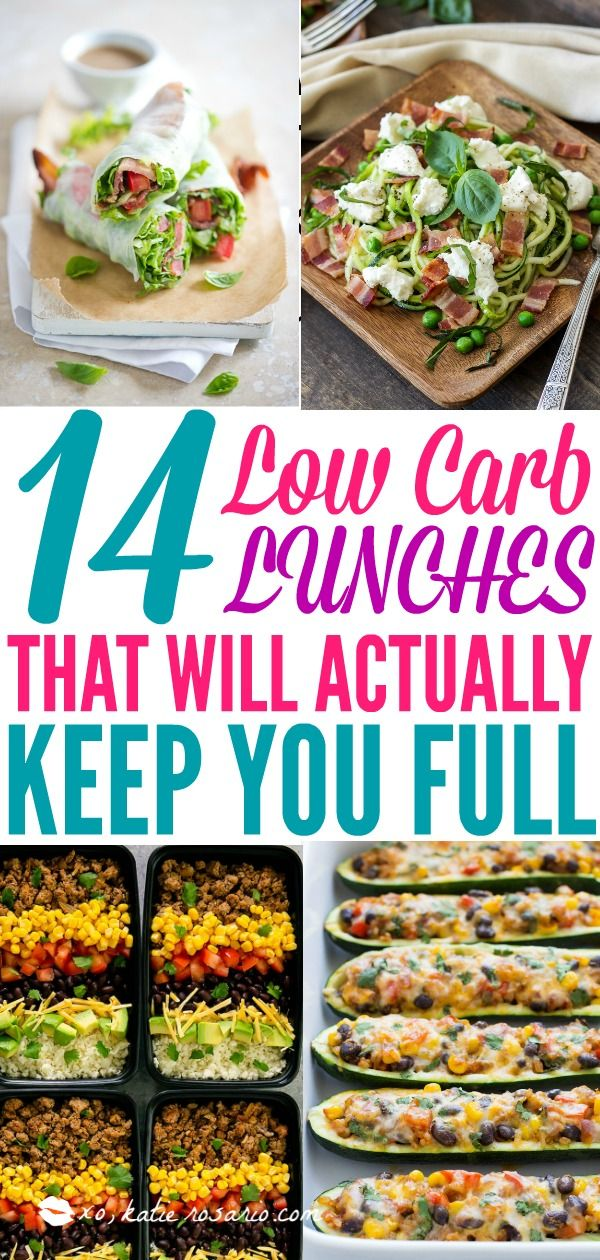14 Low Carb Lunches That Will Actually Keep You Full images