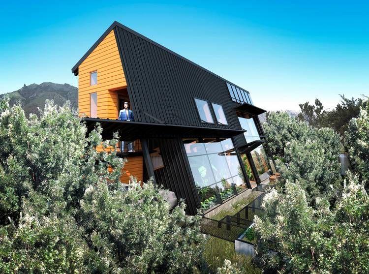 premian una casa ecolgica en bariloche