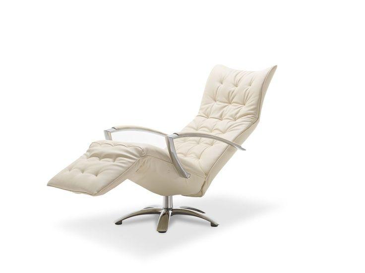 Modern Recliner Chair Leather Cover Furniture Jori