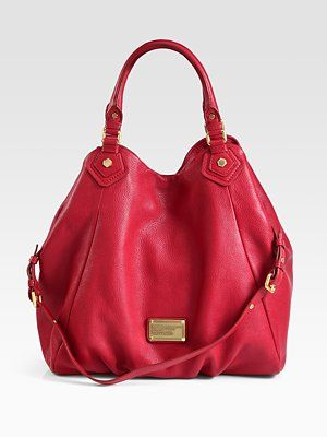 I m feelin  red this Fall- Marc by Marc Jacobs Classic Q Francesca ... d18dfbf897d