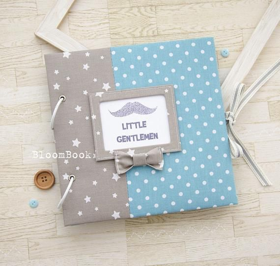 Baby Memory Book Boy Personalized Baby Book Boy Baby boy Album Baby Record Book Baby First Year Book Scrap Album For Newborn Kids Baby Album #babyrecordbook