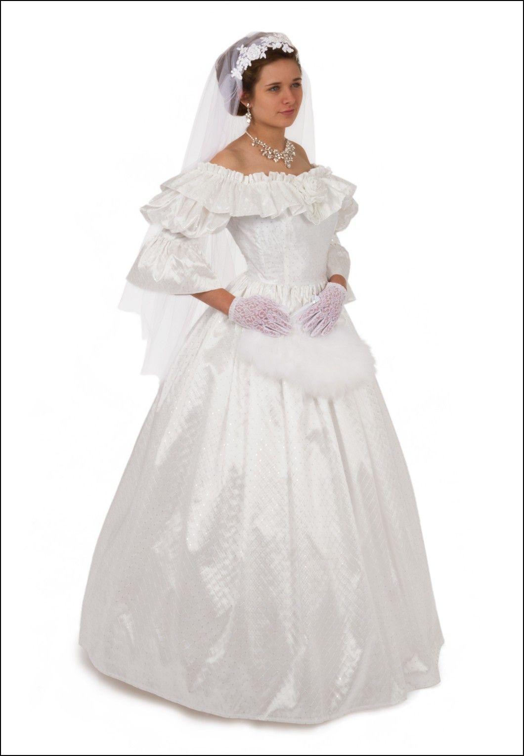 Civil War Style Wedding Dresses | Wedding Ideas | Pinterest