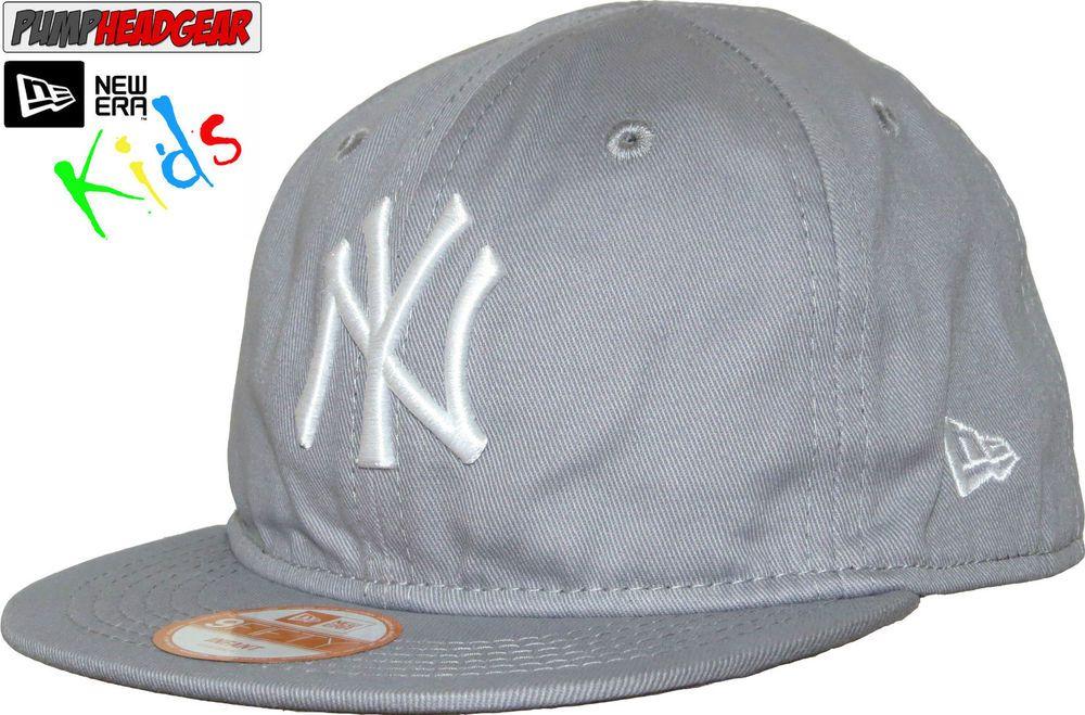 New Era 950 NY Yankees Infant League Basic Grey Snapback Cap ( 0 - 2 years  old ) 7ade42be561