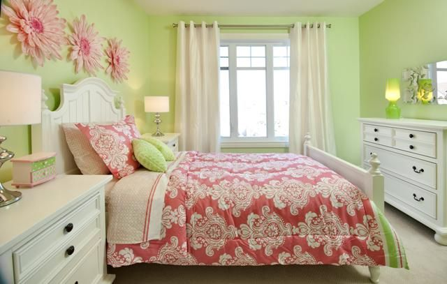 Spring Has Arrived Girls Bedroom Green Lime Green Bedrooms Green Girls Rooms