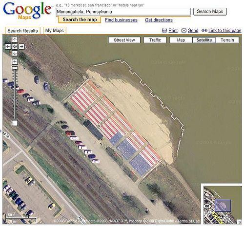 20 Awesome Images Found In Google Maps | Environmental Art ...