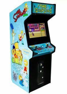 borne arcade simpson