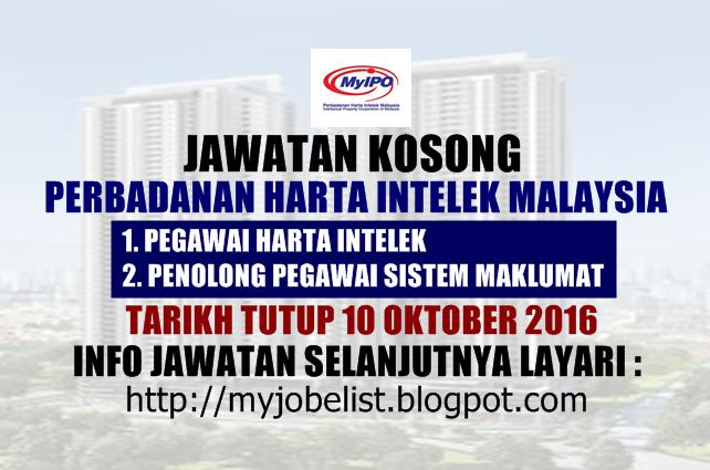 Jawatan Kosong Di Perbadanan Harta Intelek Malaysia Myipo 10 Oktober 2016 Jawatan Kosong Kerajaan Terkini D Social Security Card Person Personalized Items