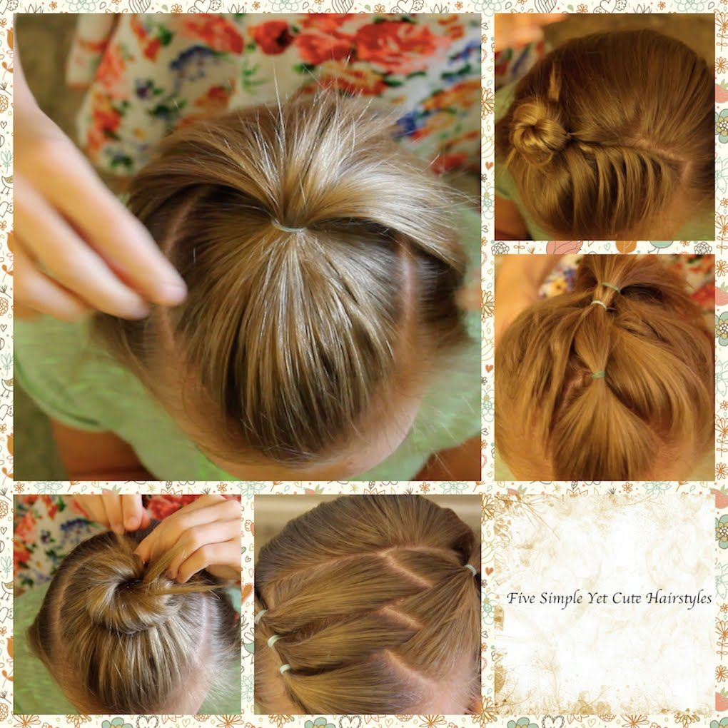 Simple Hairstyles Five Simple Hairstyles For Short Hair  Hair  Pinterest  Simple